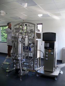 Le bâtiment Bio³ Institute de Tours s'articule autour de quatre laboratoires pilotes et de matérielles et machines industrielles