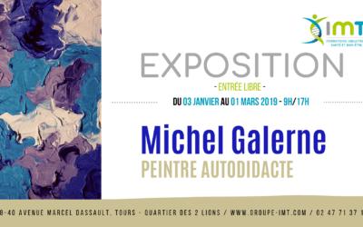 Toile du peintre autodidacte Michel Galerne