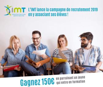Campagne de recrutement - Parrainage IMT