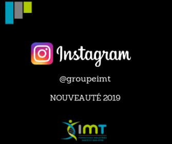 Suivez-nous sur Instagram ! @groupeimt
