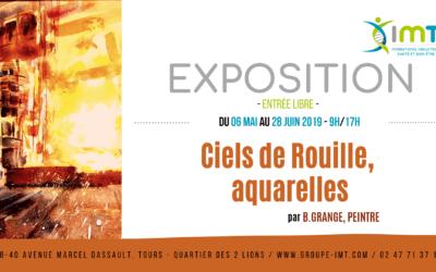 Exposition Ciels de Rouille aquarelles par B. Grange