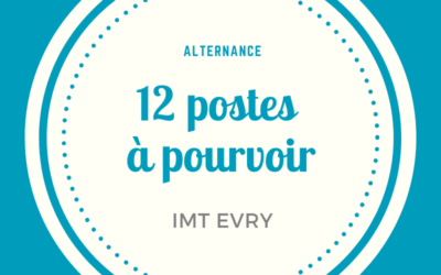 Préparez nos formations en alternance : IMT Evry vous propose des offres