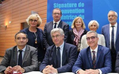 L'Université de Bourgogne, le groupement d'industriels BFCare et le Groupe IMT signent un partenariat