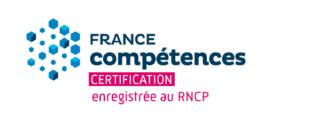 Logo France Compétences Certification enregistrée au RNCP