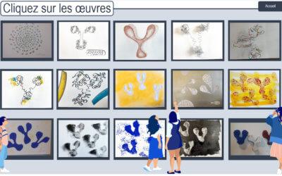 Visite virtuelle de l'exposition de Bernard Dublé