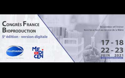 Le Groupe IMT sera présent au Congrès France Bioproduction de Polepharma