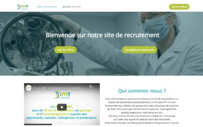 Groupe IMT : un nouveau site de recrutement